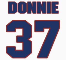 National football player Donnie Elder jersey 37 by imsport