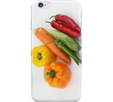 Vegetables iPhone Case/Skin