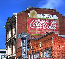 Coke Ghost Sign by Bailey Sampson