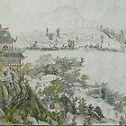 A part of Giant Traditional Chinese Painting by poemandpainting