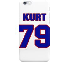 National football player Kurt Becker jersey 79 iPhone Case/Skin