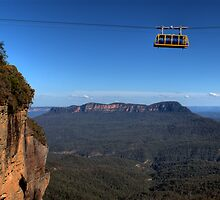 Hanging Around Skyway Blue Mountains Australia by DavidIori