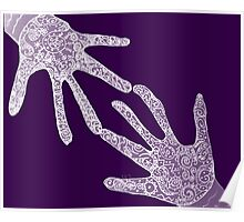 Mikayla's Mystical Hands Poster