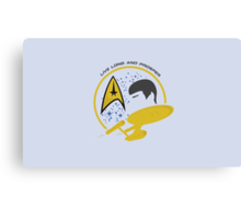 Star Trek Spock Canvas Print