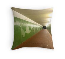 Perth at Night - Crawley Underpass Throw Pillow