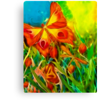 Butterfly Fantasy Canvas Print