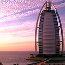 Burj Al Arab at Sunset by Graham Taylor