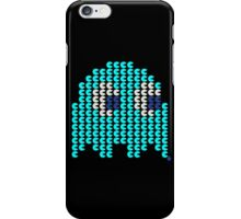 Inky Ghost, Pacman iPhone Case/Skin