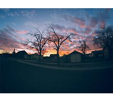 An Arizona Sunset Photographic Print