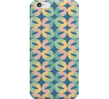 Iced Donuts in Retro Colors iPhone Case/Skin