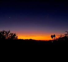 Tucson Sunset by Timothy  Ruf
