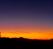 Tucson Sunset Sticker