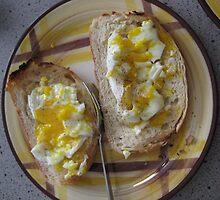 winter breakfast eggs by Laurkat
