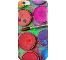 Watercolor Palette iPhone Case/Skin