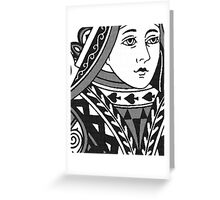 QUEEN OF SPADES-2 Greeting Card