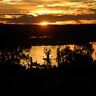 Sunset over Cobdogla Swamp by JimBob51