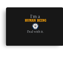 Deal with it: Community Canvas Print