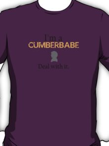 Deal with it: Benedict Cumberbatch T-Shirt