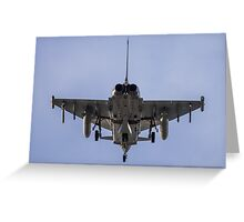 Eurofighter Typhon Greeting Card