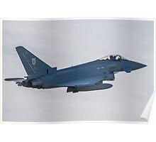 RAF Typhoon ZK330-FT No1 Squadron Poster