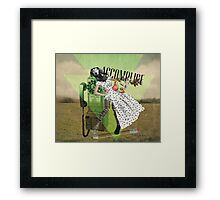 Unshackled, Accomplice by Lendi Hader Framed Print
