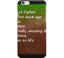 liz parker roswell galaxy space aliens iPhone Case/Skin