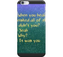 roswell max and liz alien tv show iPhone Case/Skin