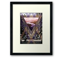 Escape From The City Framed Print