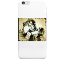 Back to the future drawing iPhone Case/Skin