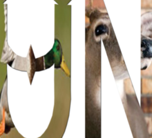 Dymond Speers Hunt Sticker
