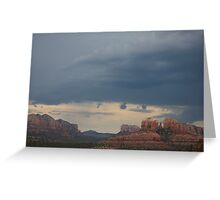 Verde Valley Storm Greeting Card