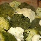 Broccolli &amp; Cauliflower Anyone? by Cheri Perry