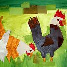 Chickens  by irisphotoart