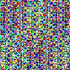 Dot triangle pattern by philbotic