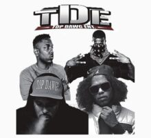 TDE-Top Dawg Entertainment by MiddourDesign