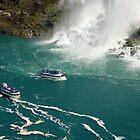 Two ships under Niagara by loiteke