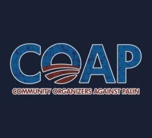 C.O.A.P. Community Organizers Against Palin t shirt by barackobama