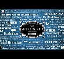 Sherlocked Mug - BBC Sherlock by patee333