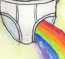 A Rainbow, Briefly Sticker