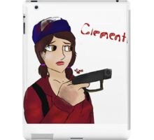 Clementine [ The Walking Dead ] iPad Case/Skin