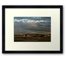 Helena Valley Framed Print