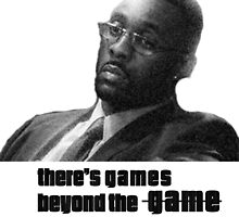 Stringer Bell - games beyond the Game by primordialcloud