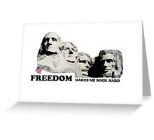 Mt. Rushmore Freedom Appreciation Greeting Card