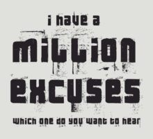 Million Excuses by Eddy Rolet