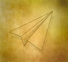 Paper Airplane 98 by YoPedro