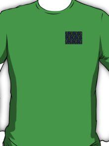 SEA HAWKS COLORS, navy blue, lime green T-Shirt