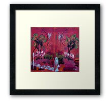 Abstract Outdoors Framed Print