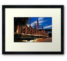 Convict Built - The Rocks , Sydney - The HDR Series Framed Print