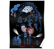 X-Files Mulder and Scully Poster