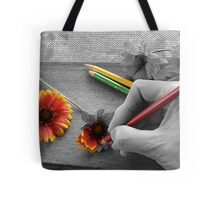Staying Inside the Lines Tote Bag